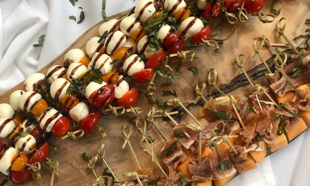 Men with Knives Catering Menu Shot Kebabs
